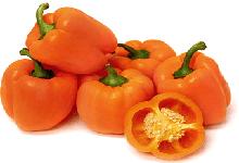 Organic Orange Capsicum