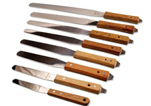 Spatulas with Wooden Handle