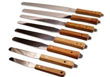 Spatulas with Wooden Handle