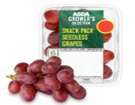 Grower's Selection Seedless Grapes Snack Pack