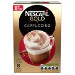 Nescafe Gold Cappuccino Coffee Sachets