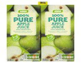 Pure Apple Juice Cartons