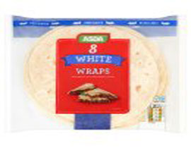 White Tortilla Wraps